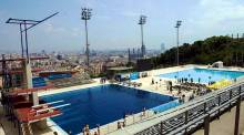 Piscina Municipal de Montjuïc - Olympic diving pool