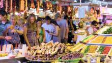 Barcelona Gourmet Food and Santa Caterina Market Walking Tour