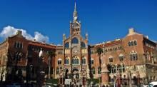 Hospital Sant Pau - modernist hospital