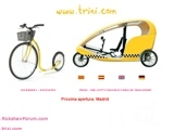 Trixi - pedicabs - bike taxis - Barcelona