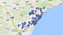 Skate Map Barcelona