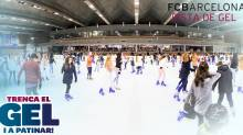 FCB ice skating rink - Pista de Gel