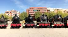 Steam engine museum Barcelona