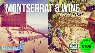 Day Tour to Montserrat & Torres Winery