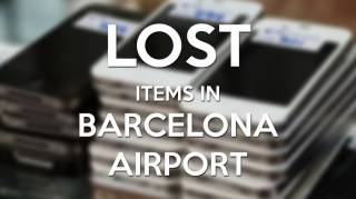 Lost items Barcelona Airport