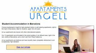 Apartamentos Urgell - student apartments