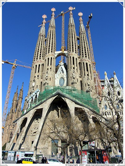 Barcelona 2019 Pictures La Sagrada Familia Church