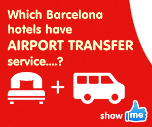 Barcelona hotels with airport transfer