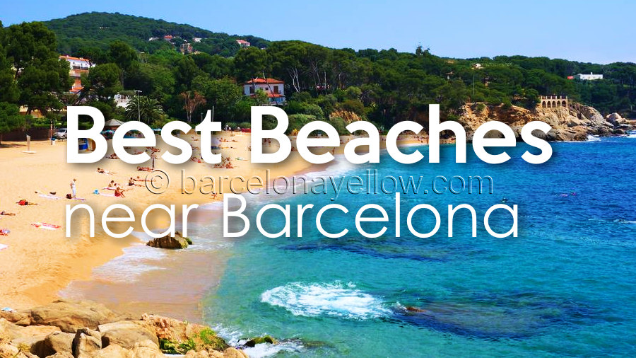 Map Of Spain Near Barcelona.Barcelona 2019 Best Beaches Outside Barcelona