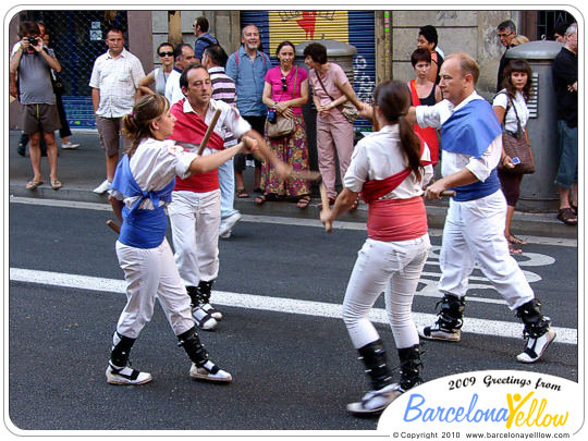 Ball de bastoners - stick dance Catalonia
