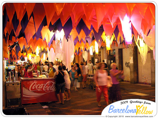 Barcelona 2019 pictures festa major de gracia for Swing gracia