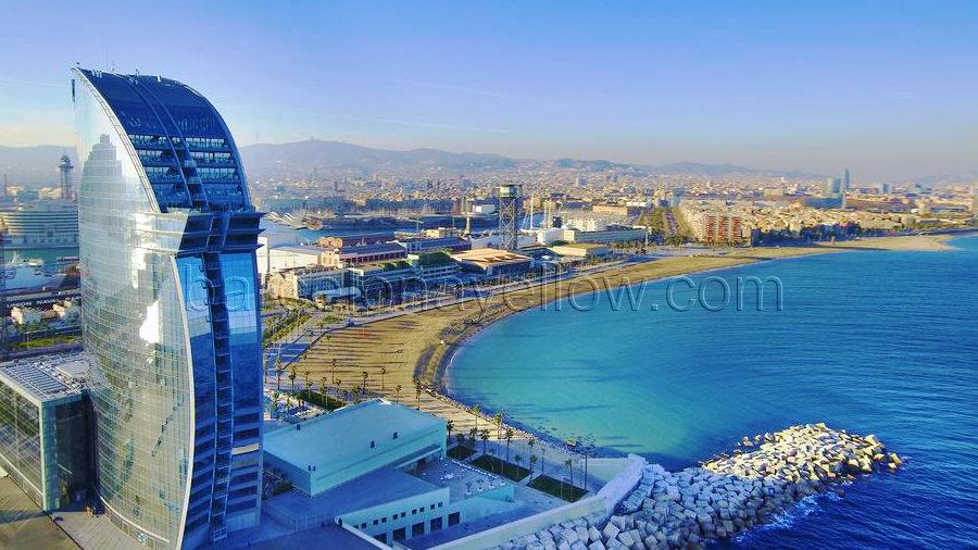 Barcelona 2018 best barcelona beach hotels 2018 for Hotel barcelona w