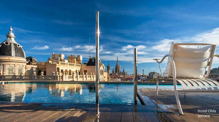 Barcelona 2018 Best Barcelona Hotel Terraces Rooftop Pools