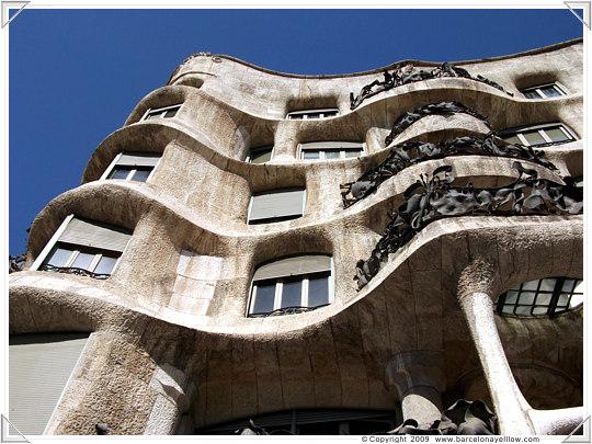 Barcelona 2019 Pictures Casa Mila La Pedrera By Gaudi
