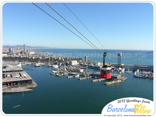 Port cable car Barcelona