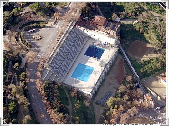 Olympic swimming pool Barcelona