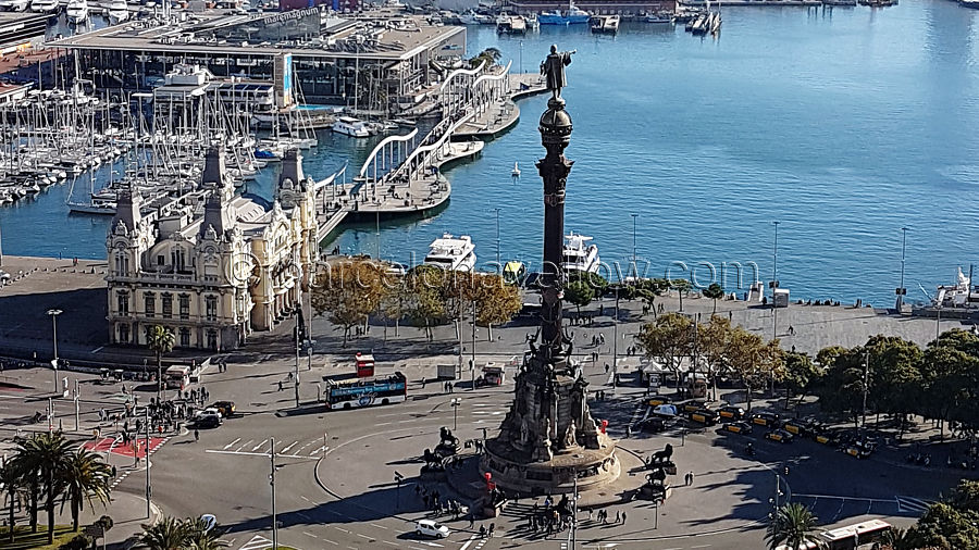port_vell_columbus_monument