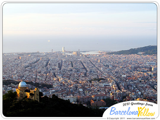 Views of Barcelona from Tibidabo