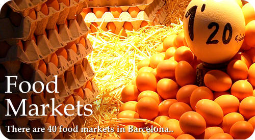 Food markets barcelona