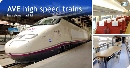 AVE high speed train