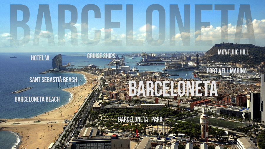 Things to do Barceloneta area Barcelona