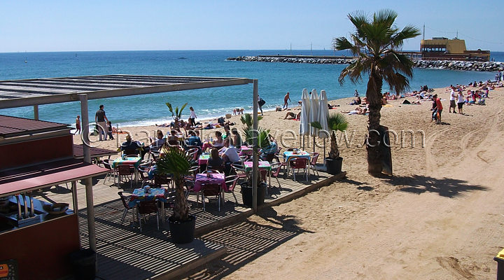 Beach bars Barcelona