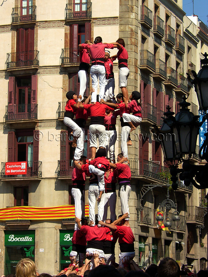 Barcelona 2019 Pictures Castellers Human Tower Castles