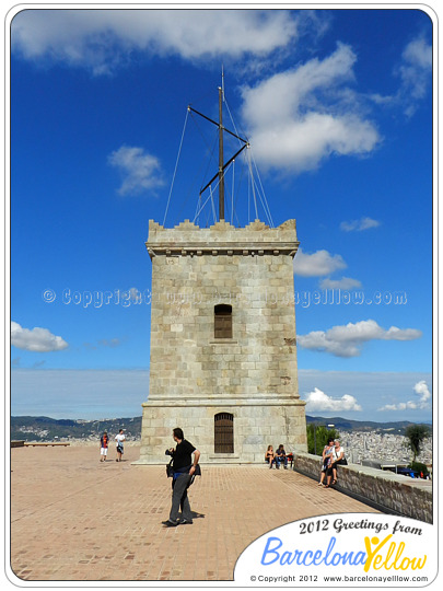 Montjuic fort tower