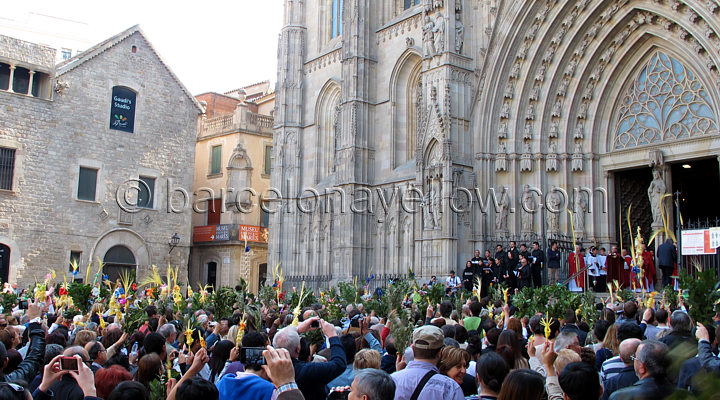 Barcelona Easter processions
