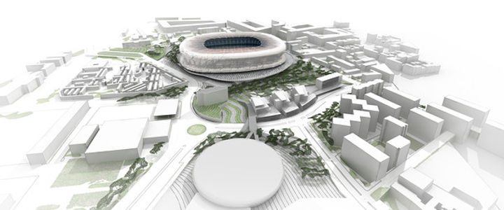 New Camp Nou stadium design