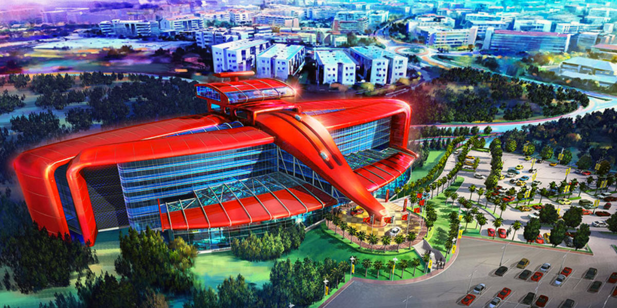 Barcelona 2018 ferrari land barcelona theme park for Top design hotels barcelona