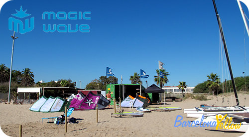 kite surfing rental Barcelona