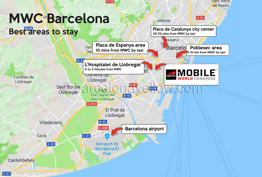 map-best-areas-hotels-near-mwc-barcelona