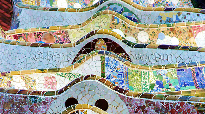 Barcelona 2017 Park Guell Pictures Barcelona