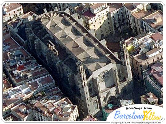 Barcelona 2018 Pictures Santa Maria Del Mar Church