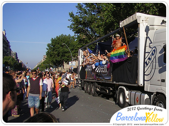 Click to see pictures of Barcelona Pride Parade