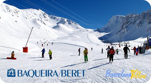 Barcelona 2018 Baqueira Beret Ski Resort