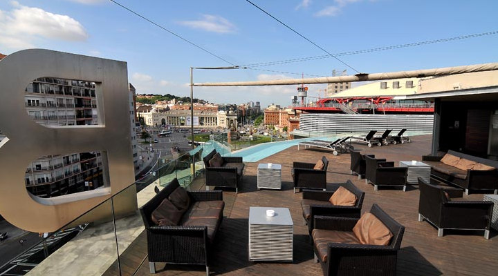 Barcelona 2018 best barcelona hotel terraces rooftop pools for The 8 boutique b b barcelona