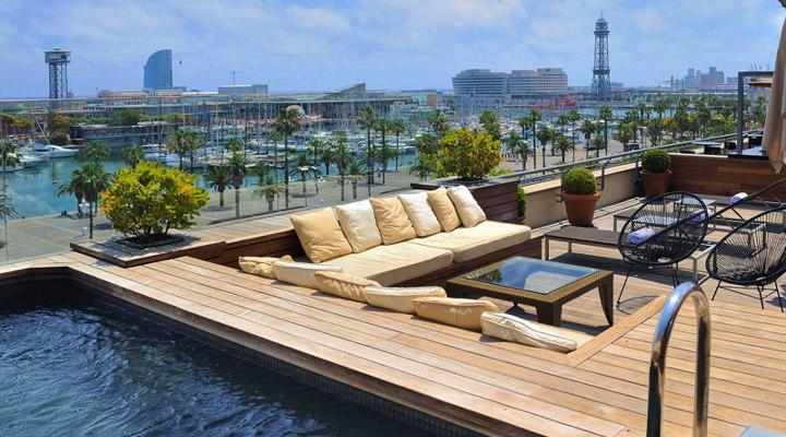 Barcelona 2018 best barcelona hotel terraces rooftop pools for W barcelona bar