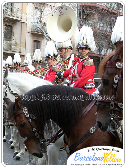 Tres Tombs Sant Antoni Seccion Montada Guardia Urbana